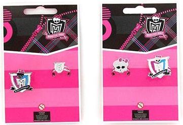 Украшения Monster High Кольцо Monster High «Череп» большое и маленькое 2 шт. брелок monster high череп
