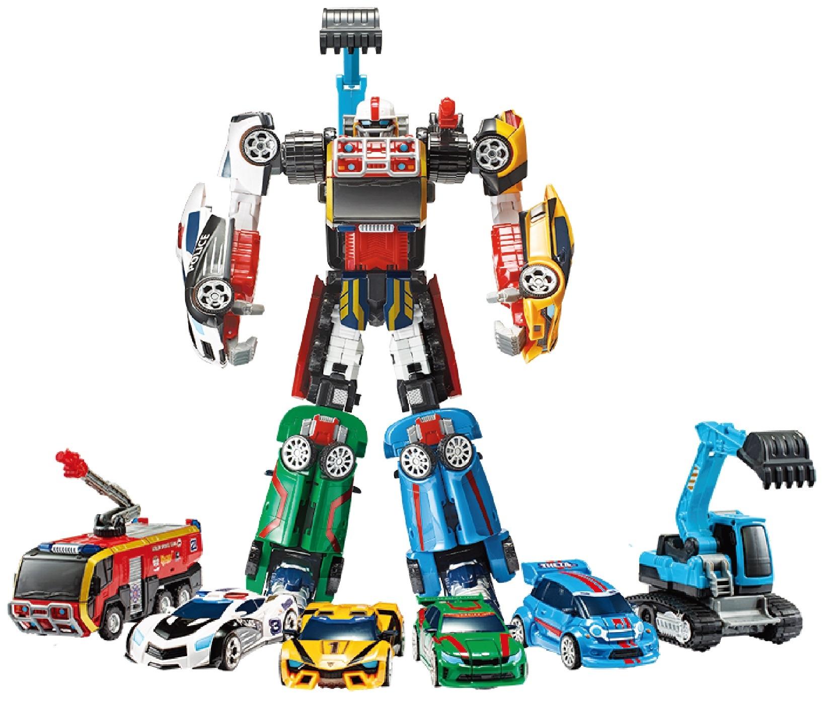 робот-трансформер Tobot Атлон Магма 6 S2 цена