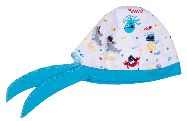 Шапочка детская Barkito Маленький пират шапочка с отворотом детская barkito дракоши