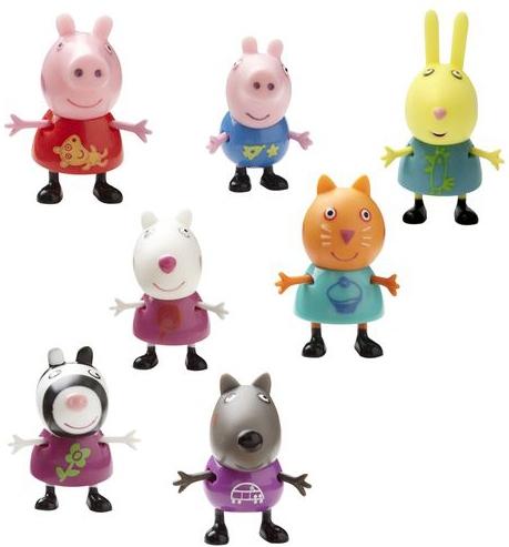 Игровой набор Peppa Pig Любимый персонаж игровой набор любимый персонаж 5 см в ассортименте