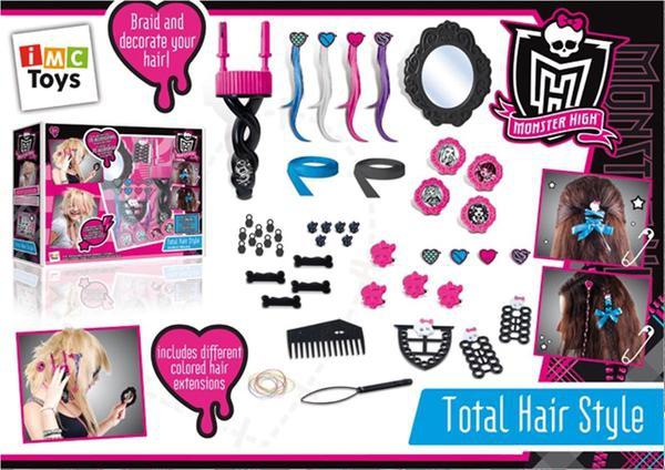 Monster High Monster High Игровой набор Monster High «Студия красоты» centrum набор из пластиковых подвесок для браслетов monster high