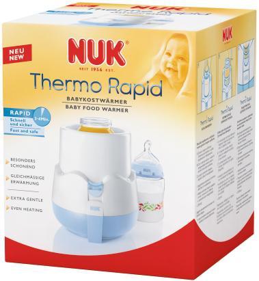 подогреватели и стерилизаторы Подогреватели для бутылочек NUK Подогреватель детского питания Thermo Rapid