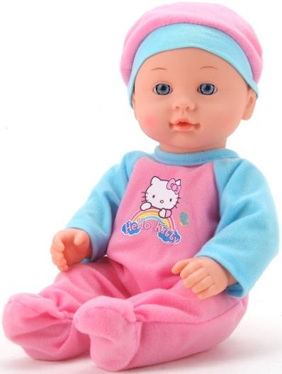 Кукла Карапуз Hello Kitty карапуз пупс озвученный hello kitty цвет одежды розовый