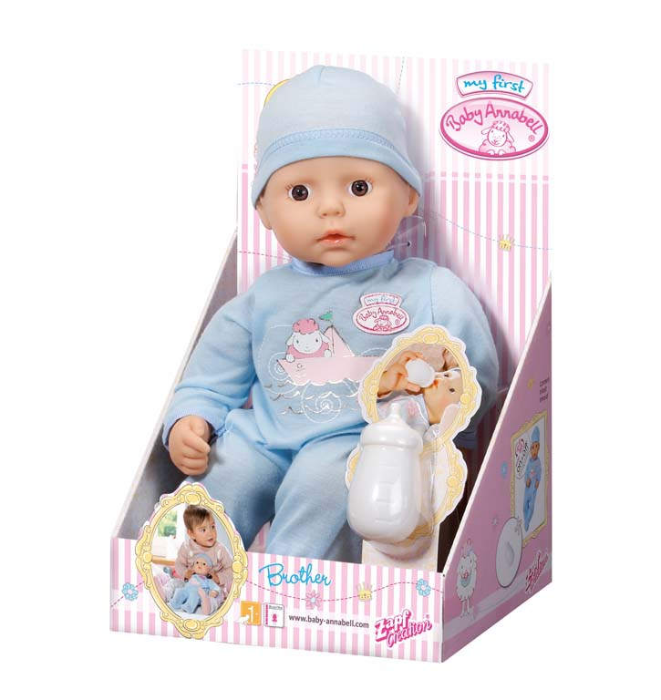 Кукла-мальчик Baby Annabell Мy first Baby Annabell 36 см