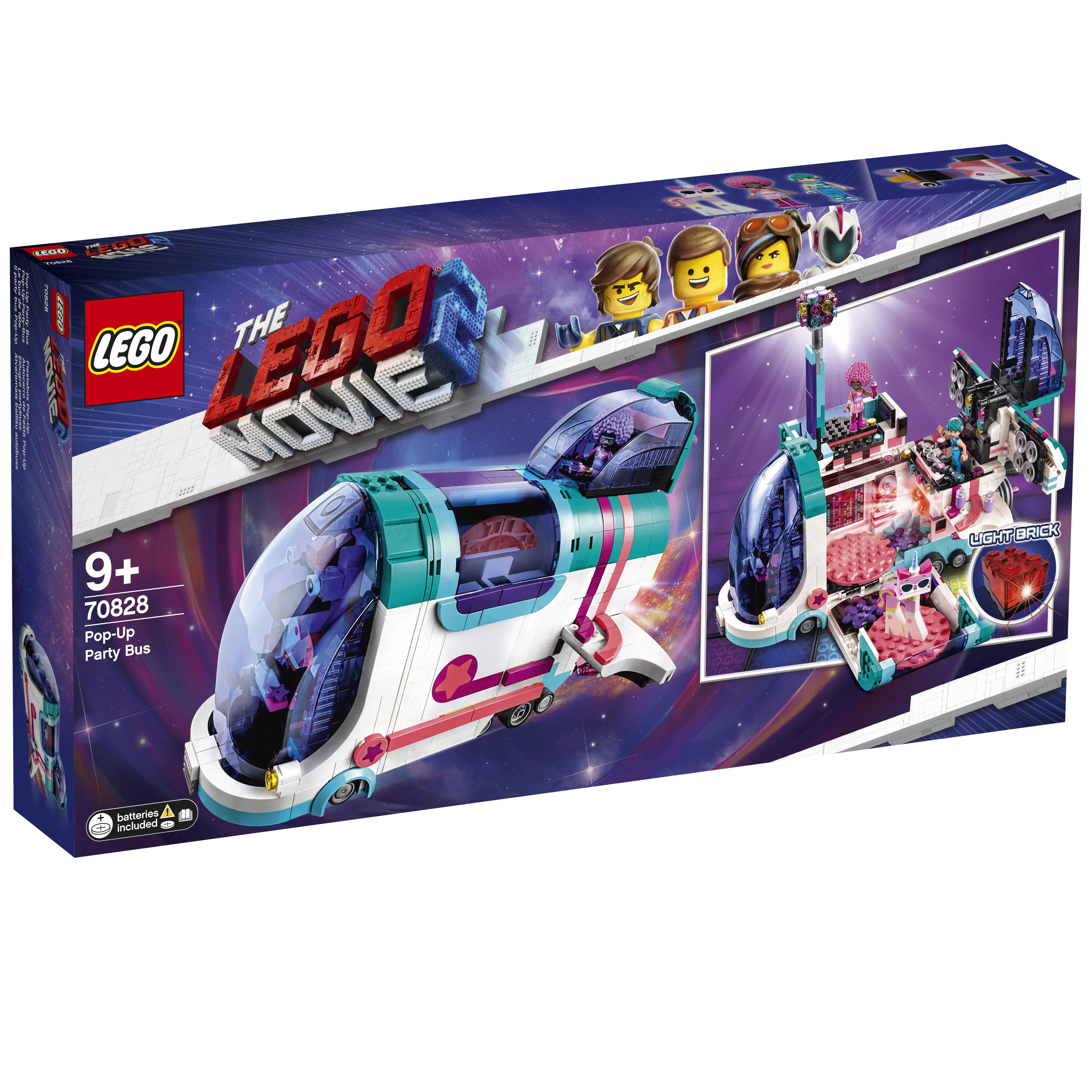 Конструктор LEGO Movie 70828 Автобус для вечеринки.