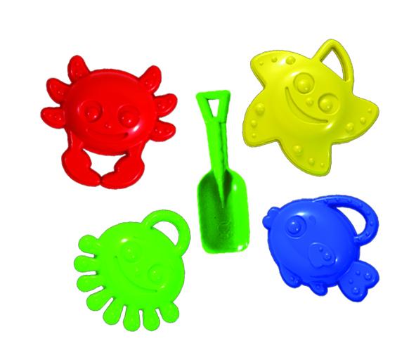 Набор формочек Пластмастер Морские друзья 70047 игрушка пластмастер набор викинг