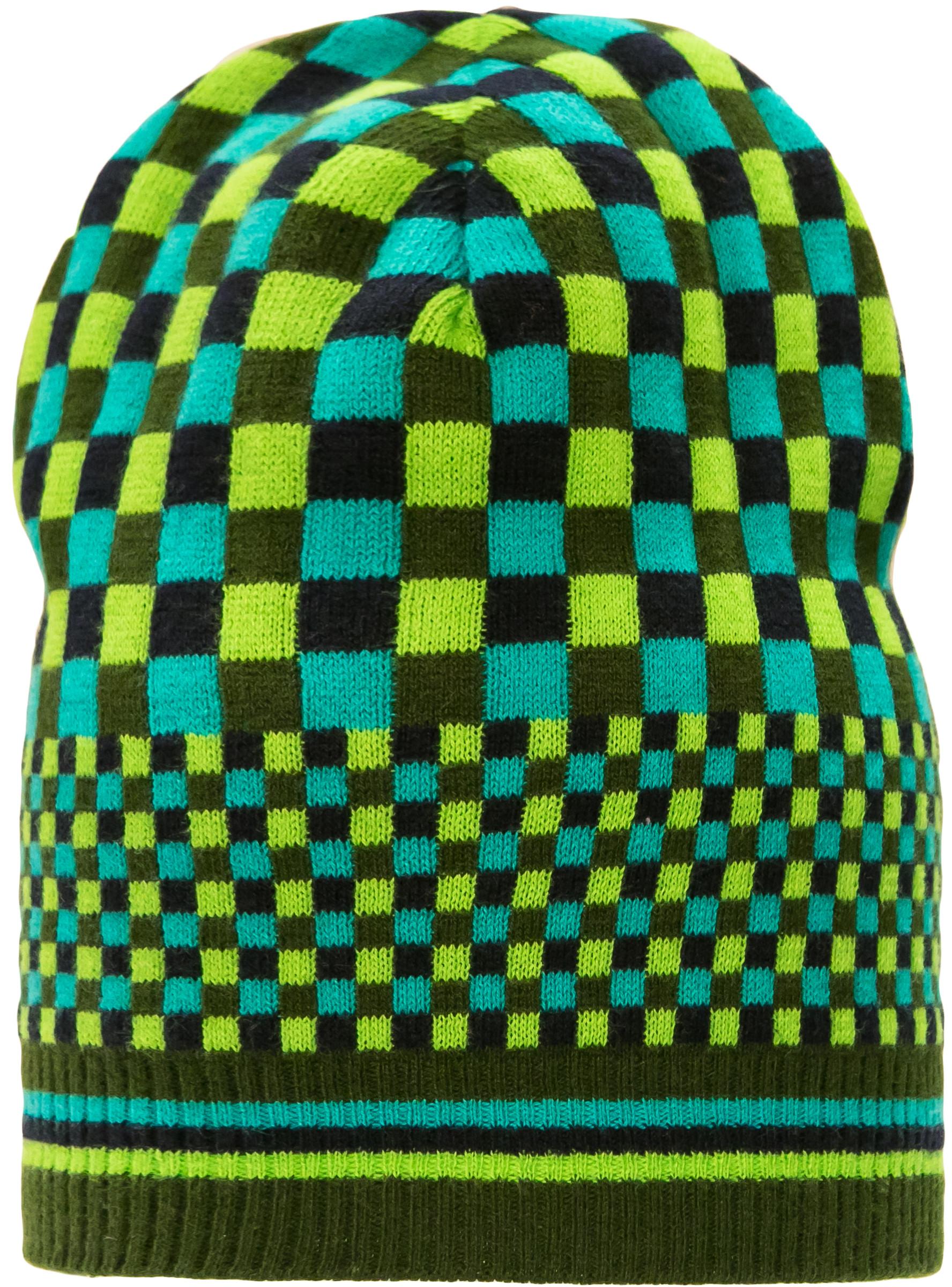 Головные уборы Barkito Шапка для мальчика Barkito, зеленая с рисунком зеленая шапка