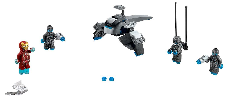 LEGO LEGO Super Heroes 76029 Железный человек против Альтрона конструктор lego super heroes железный человек стальной детройт наносит удар 76077