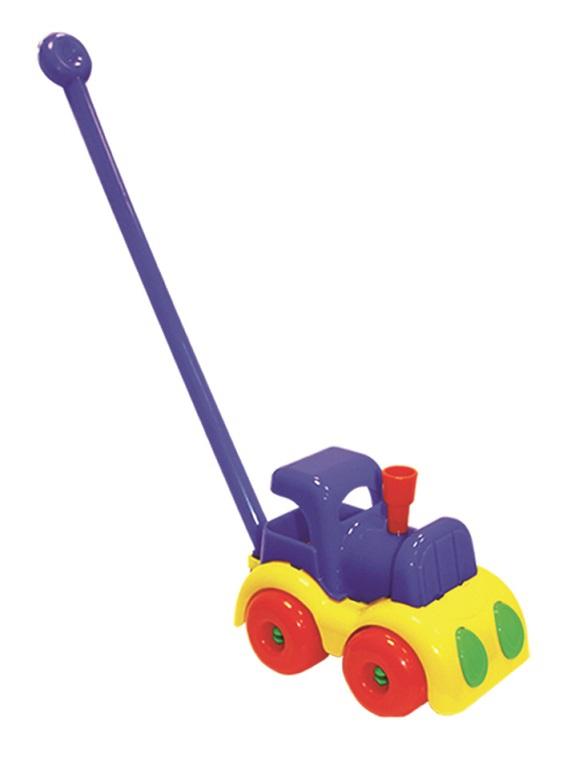 Каталка Пластмастер Паровозик Малышок таис игрушка каталка паровозик