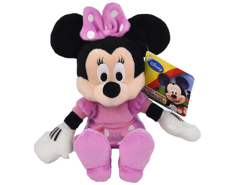 Мягкие игрушки Nicotoy Минни Маус в розовом платье 20 см 5874592
