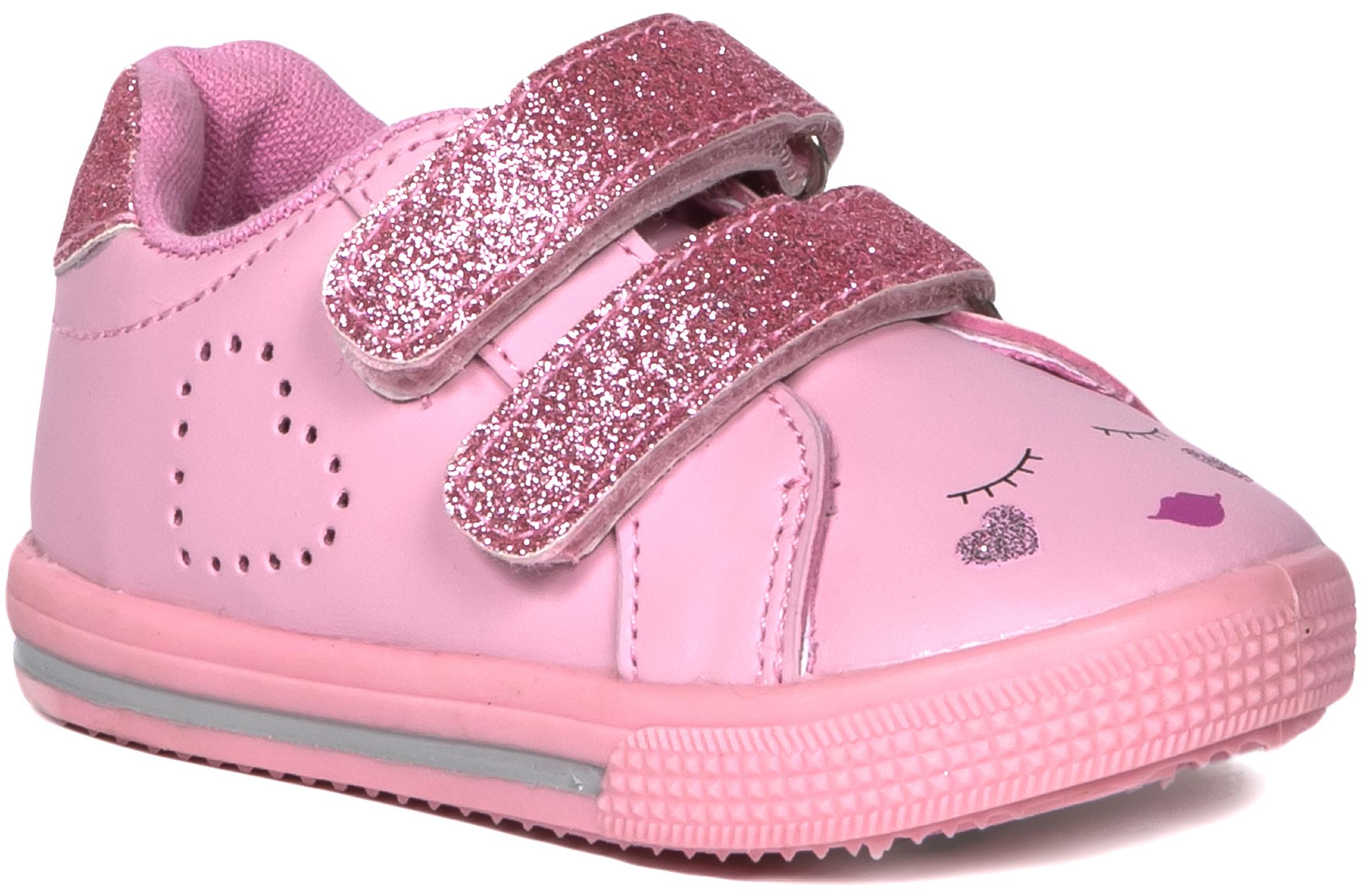 Кроссовки и кеды Barkito Полуботинки типа кроссовых для девочки Barkito, светло-розовый кроссовки для девочки zenden цвет розовый 219 33gg 002tt размер 31 page 5
