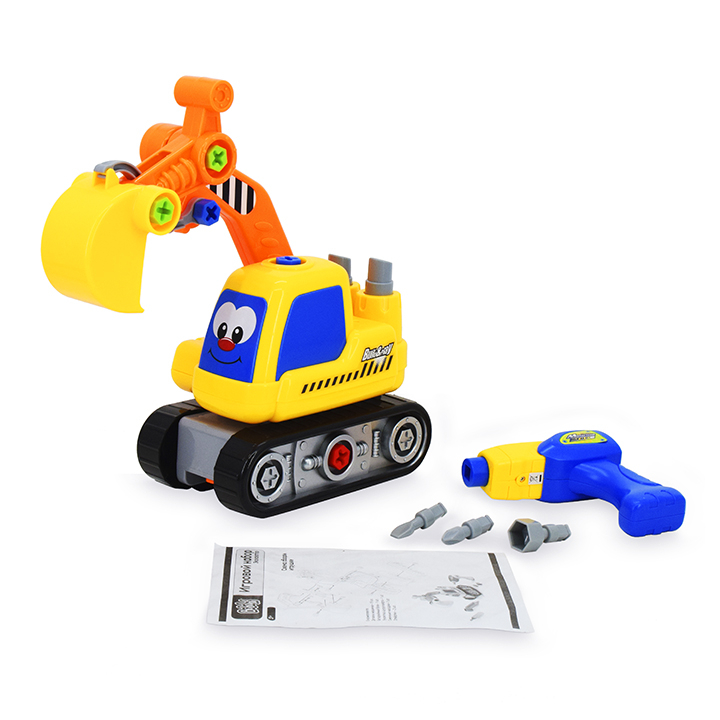 Наборы игрушечных инструментов Bebelot «Экскаватор» 30 см смолл л как найти друзей