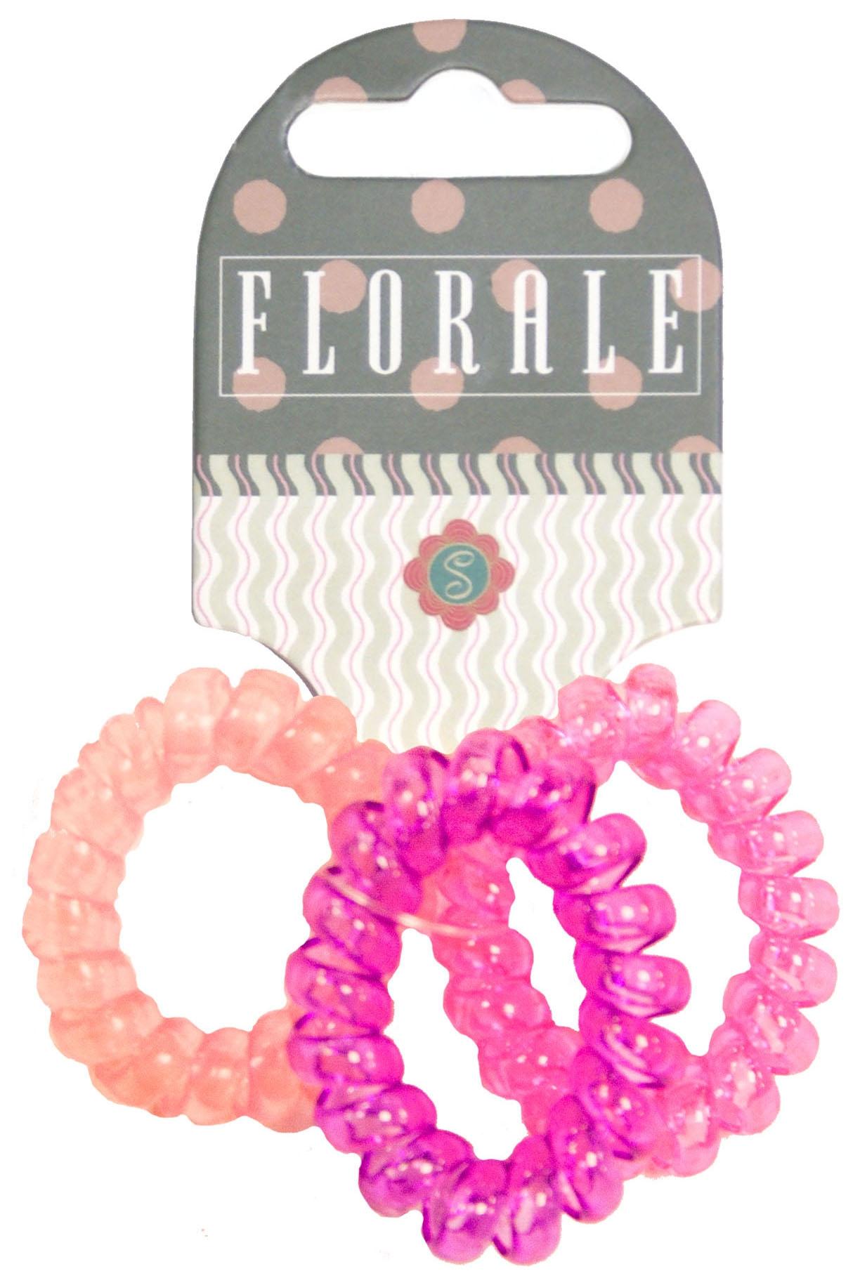 Украшения Florale Пружинки маша и медведь резинка для волос пружинки в цветовом дизайне 5 шт