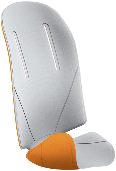 Аксессуары к велокреслам Thule Вкладыш для велокресла Thule «RideAlong» серый/оранжевый