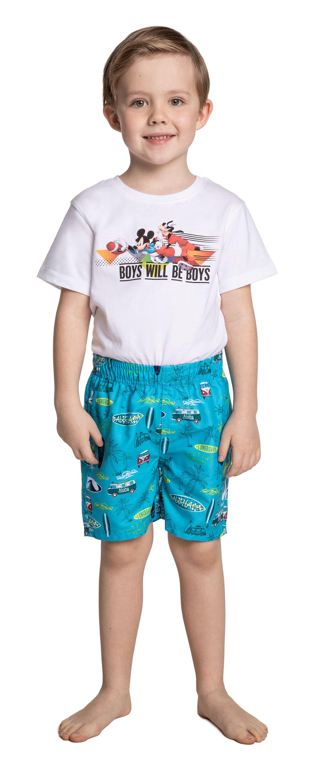 Купить Трусы-шорты для мальчика, Купальные, Barkito, Германия, синий, основная ткань:100% Полиэстер, Подкладка: 100% Полиэстер, Мужской