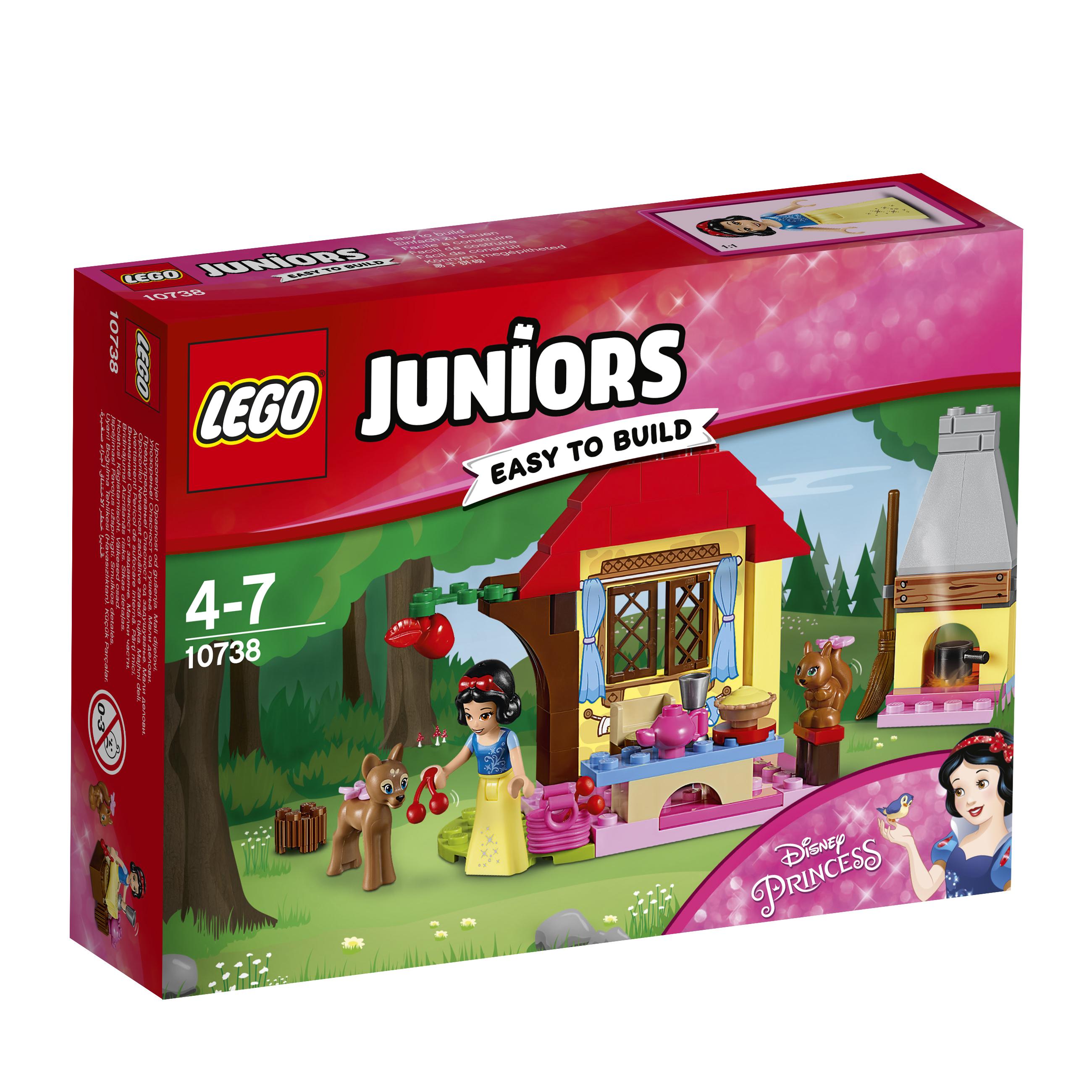 LEGO LEGO Конструктор LEGO Juniors 10738 Лесной домик Белоснежки костюм сказочной белоснежки 44