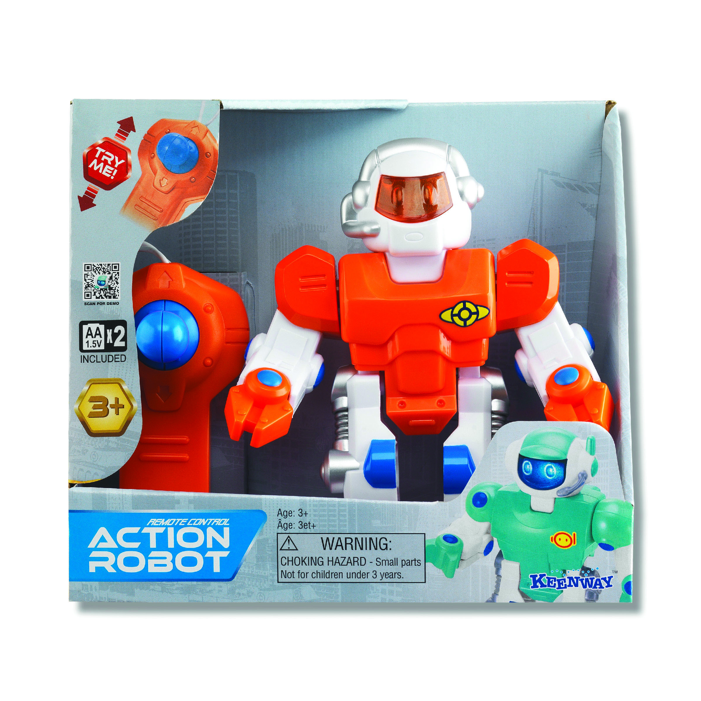 Игрушечные роботы и трансформеры Keenway Action Robot с пультом [bainily]star wars rc bb 8 robot starwars 2 4g remote control bb8 robot intelligent small ball action figure toys christmas gift