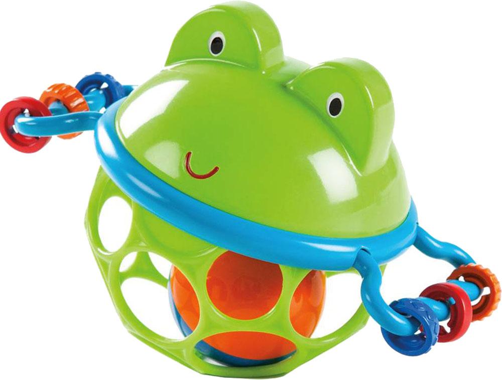 Погремушки Oball Лягушонок развивающие игрушки oball мячик на присоске