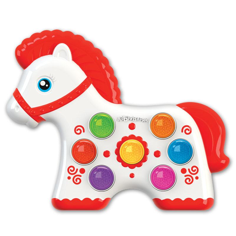 Развивающая игрушка Азбукварик Веселушки. Лошадка азбукварик азбукварик что умеет лошадка серия мои первые стихи