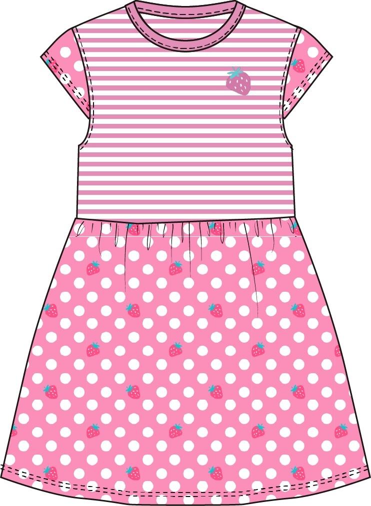 Платья и сарафаны Barkito Сладкоежка-1 розовое