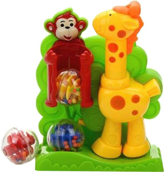 Развивающие игрушки Малышарики Жираф развивающая игрушка малышарики крабики