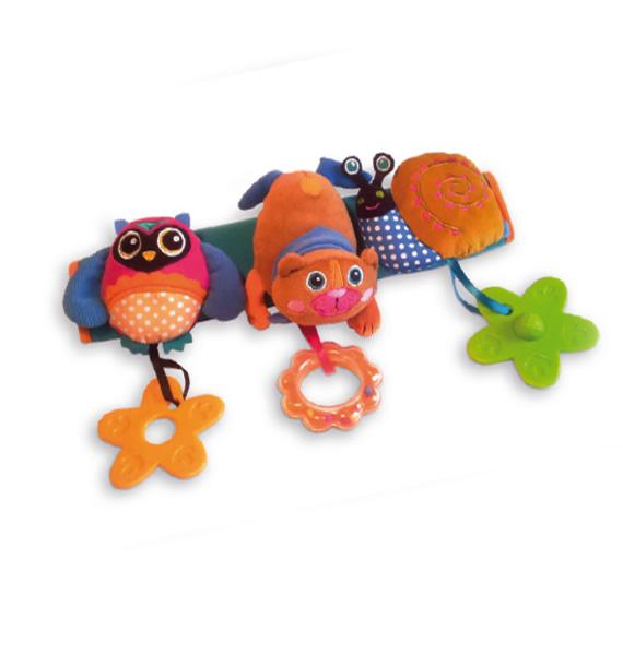 Фото - Игры и игрушки в дорогу Oops Подвеска на кроватку и коляску Oops в асс. игры и игрушки в дорогу пластмастер подвеска на коляску пластмастер нежность