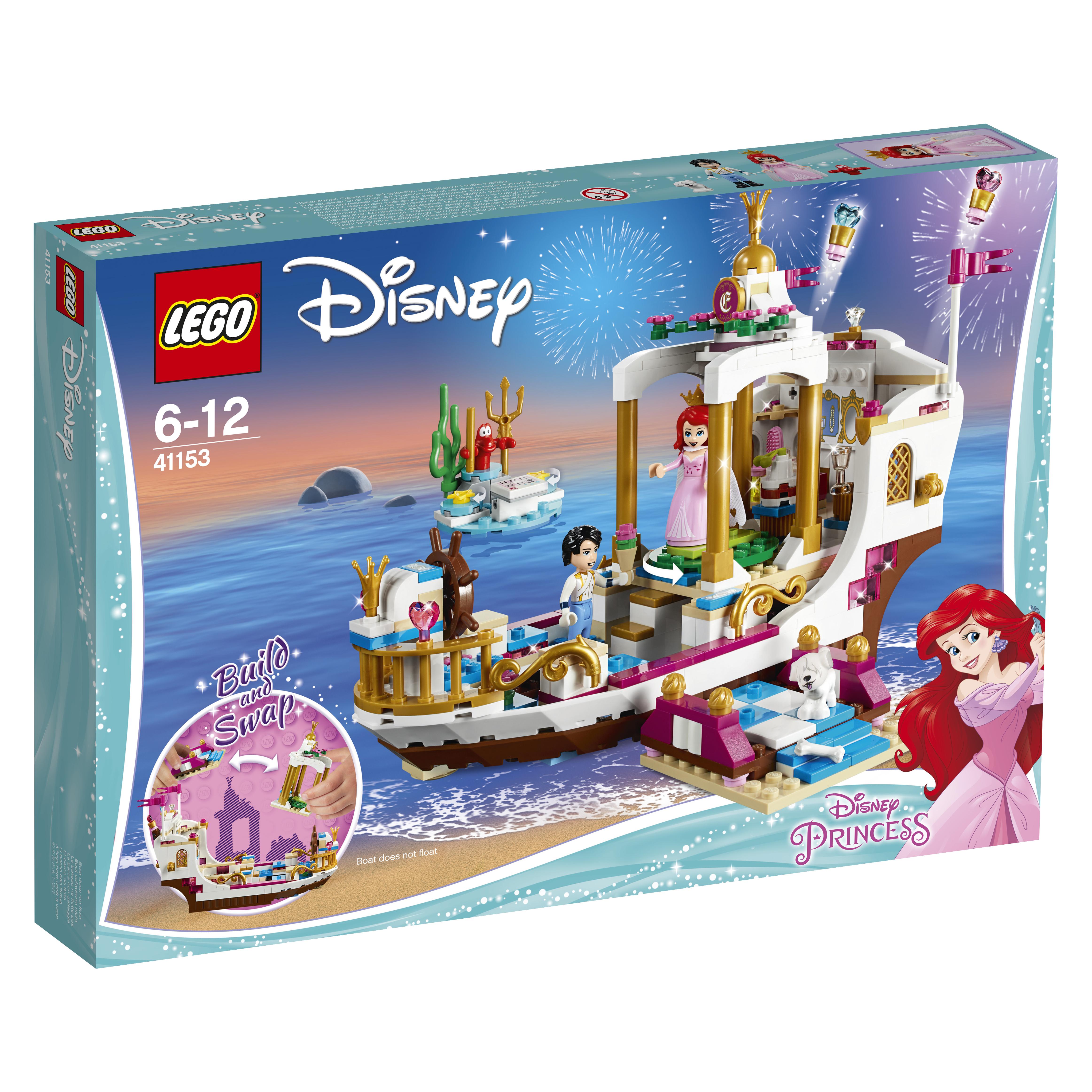 LEGO LEGO Disney Princess 41155 Приключения Эльзы на рынке lego lego disney princesses 41148 волшебный ледяной замок эльзы