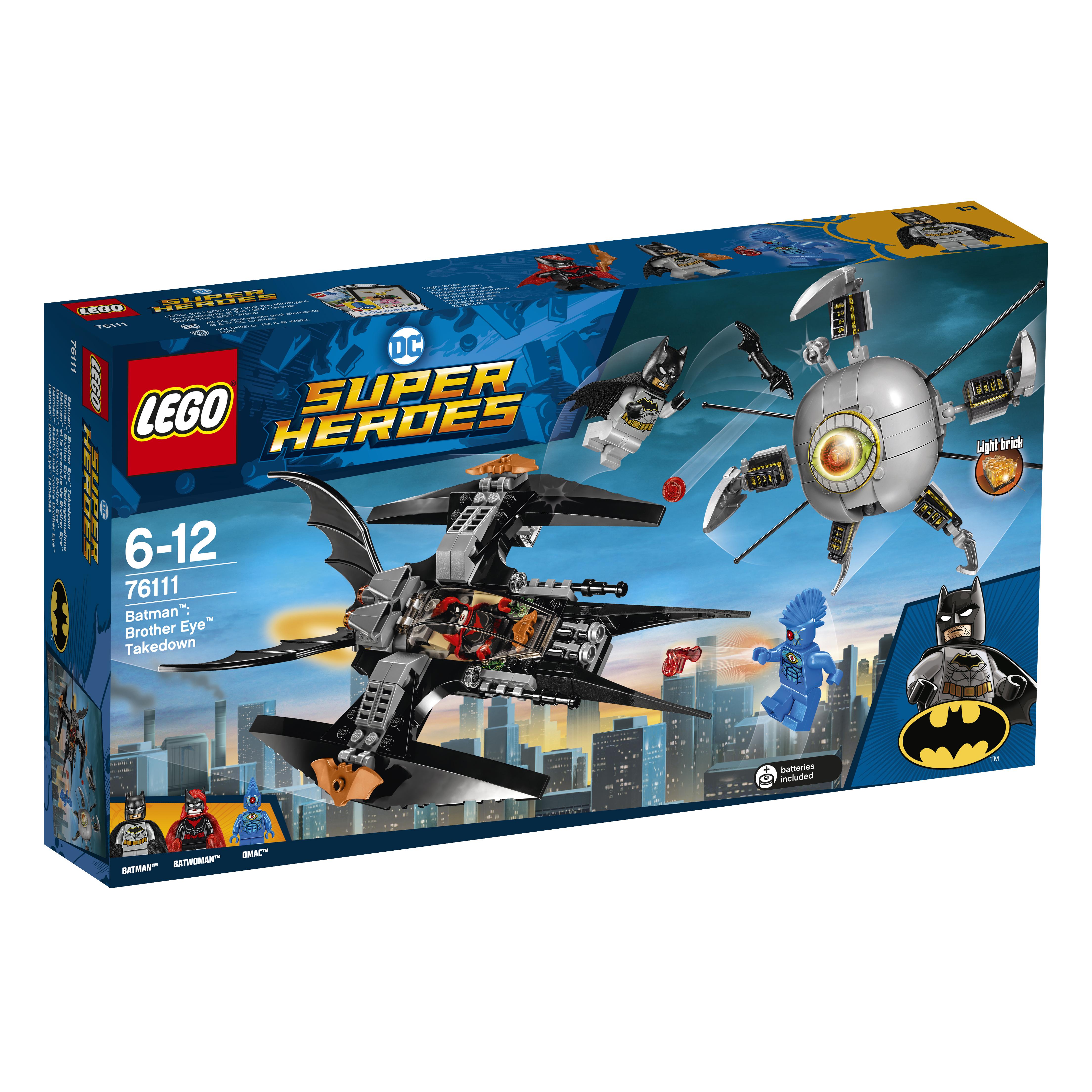 LEGO LEGO Конструктор LEGO Super Heroes 76111 Бэтмен: ликвидация Глаза брата