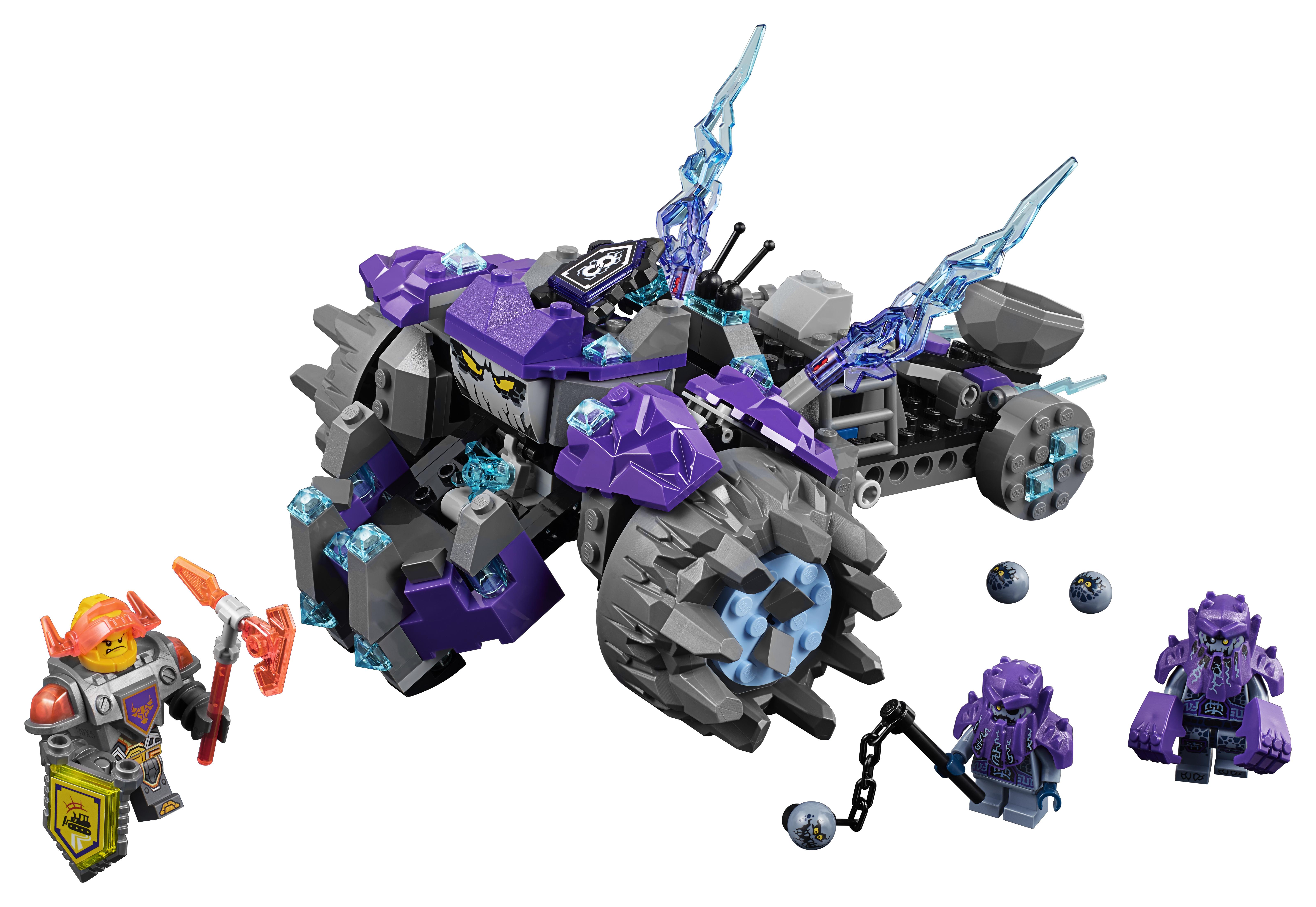 LEGO LEGO Nexo Knights 70350 Три брата конструктор lego nexo knights 70372 комбо nexo силы