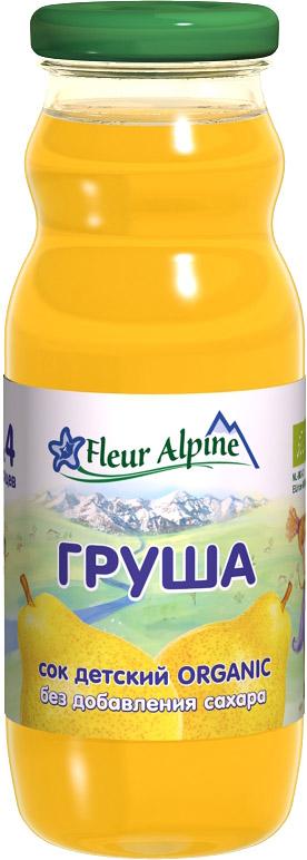 Напитки Fleur Alpine Fleur Alpine Organic Груша осветленный с 4 мес. 200 мл соки и напитки semper сок груша с 4 мес 200 мл