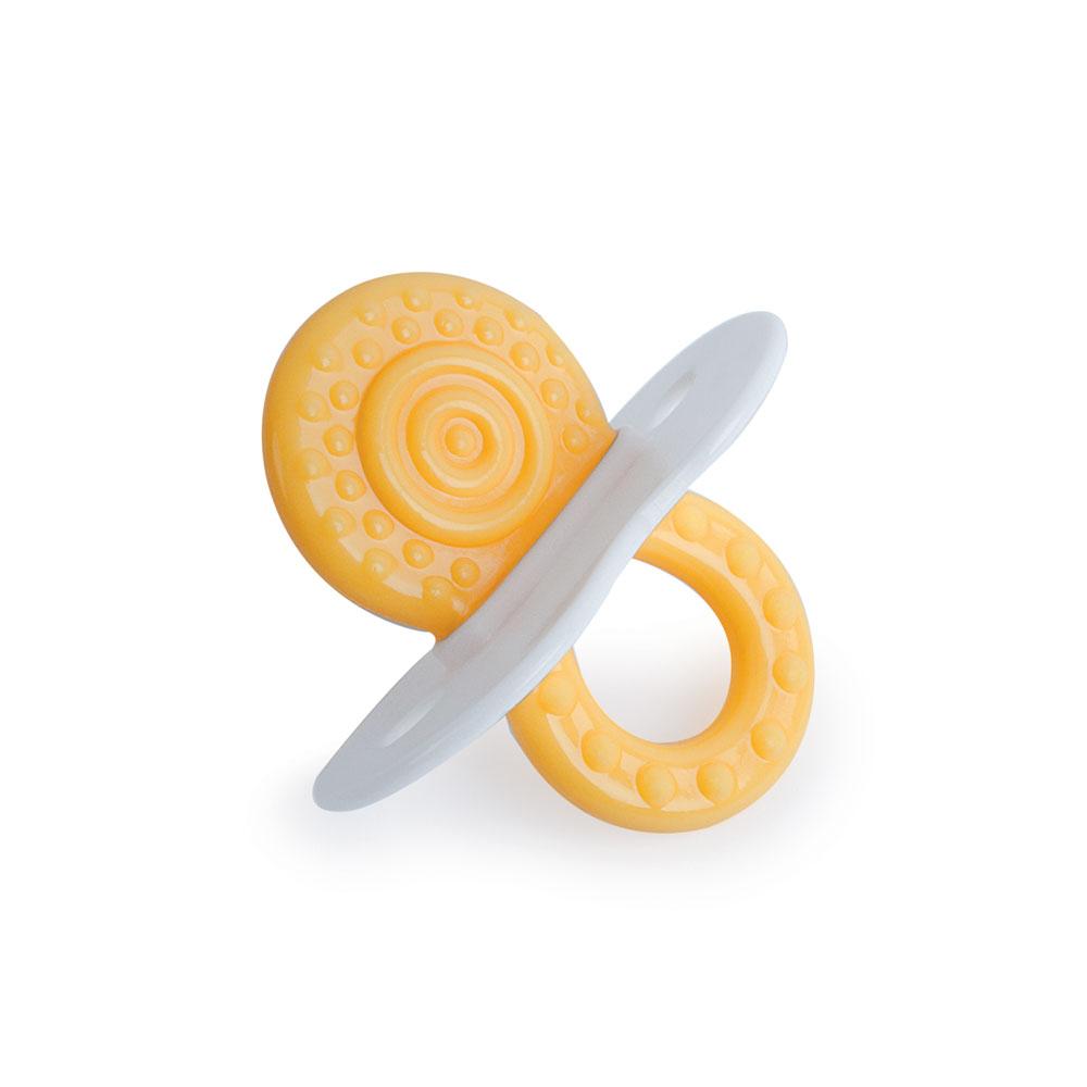 Прорезыватели Be2Me Прорезыватель для зубов Be2Me цвет желтый термометр для воды be2me