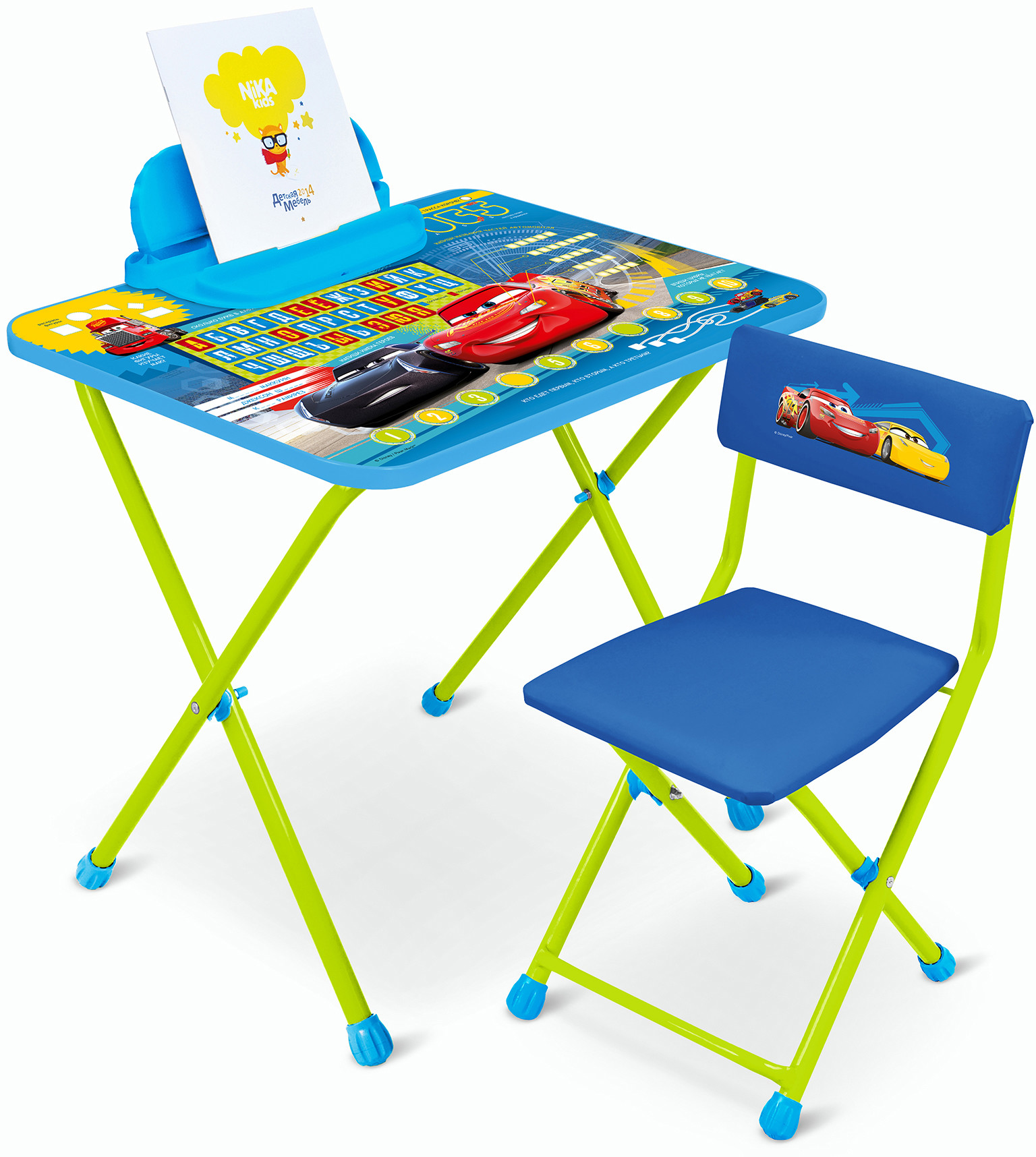 Парты и столы Nika Тачки