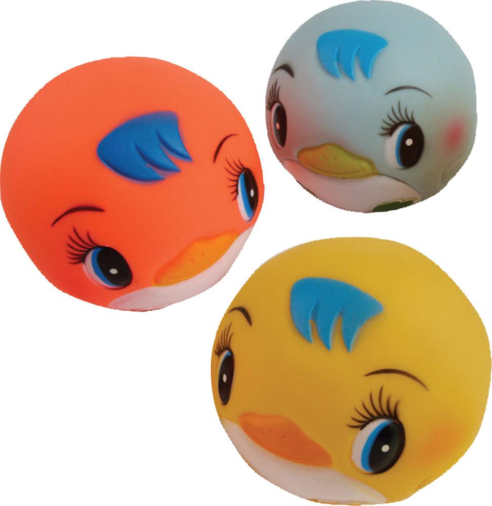 Детские игрушки для ванной Курносики Мячики-пингвины