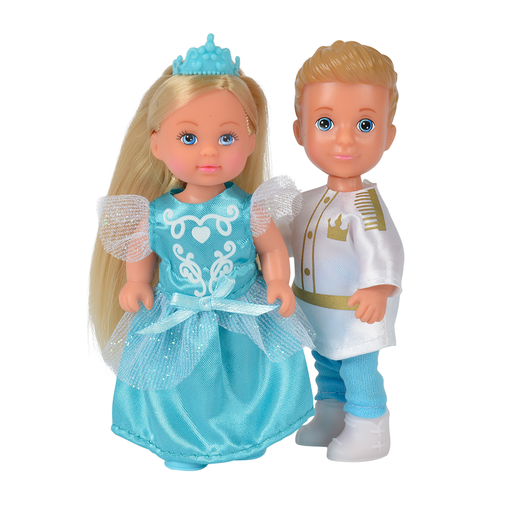 Кукла simba Принц Тимми и принцесса Еви набор кукол simba еви и тимми в карете 5738516