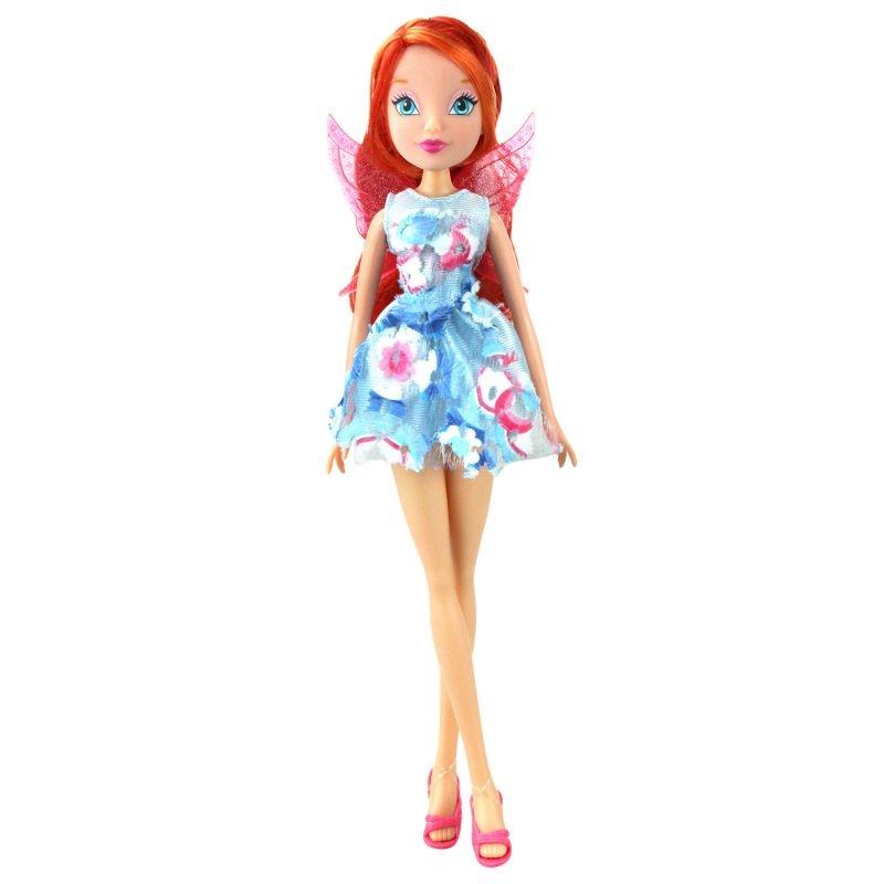 Кукла WINX CLUB Магическое сияние Блум IW01561801 цена