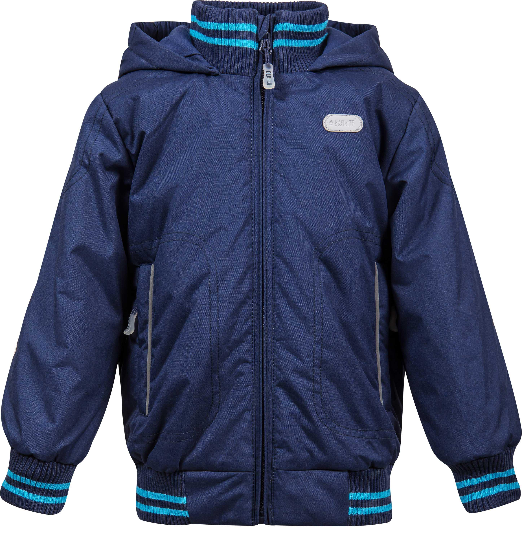 Купить Куртки, Куртка утепленная для мальчика Barkito, темно-синяя, Китай, темно-синий, Мужской