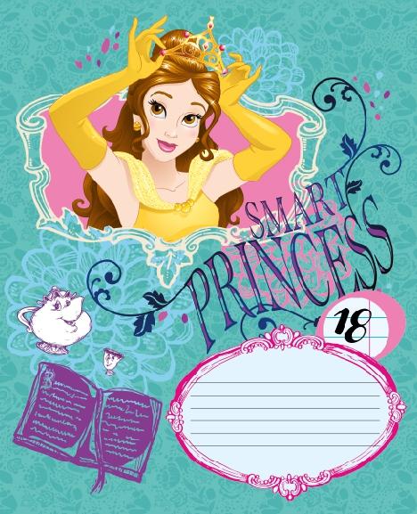 Тетради, дневники Princess Disney Princess наушники disney princess