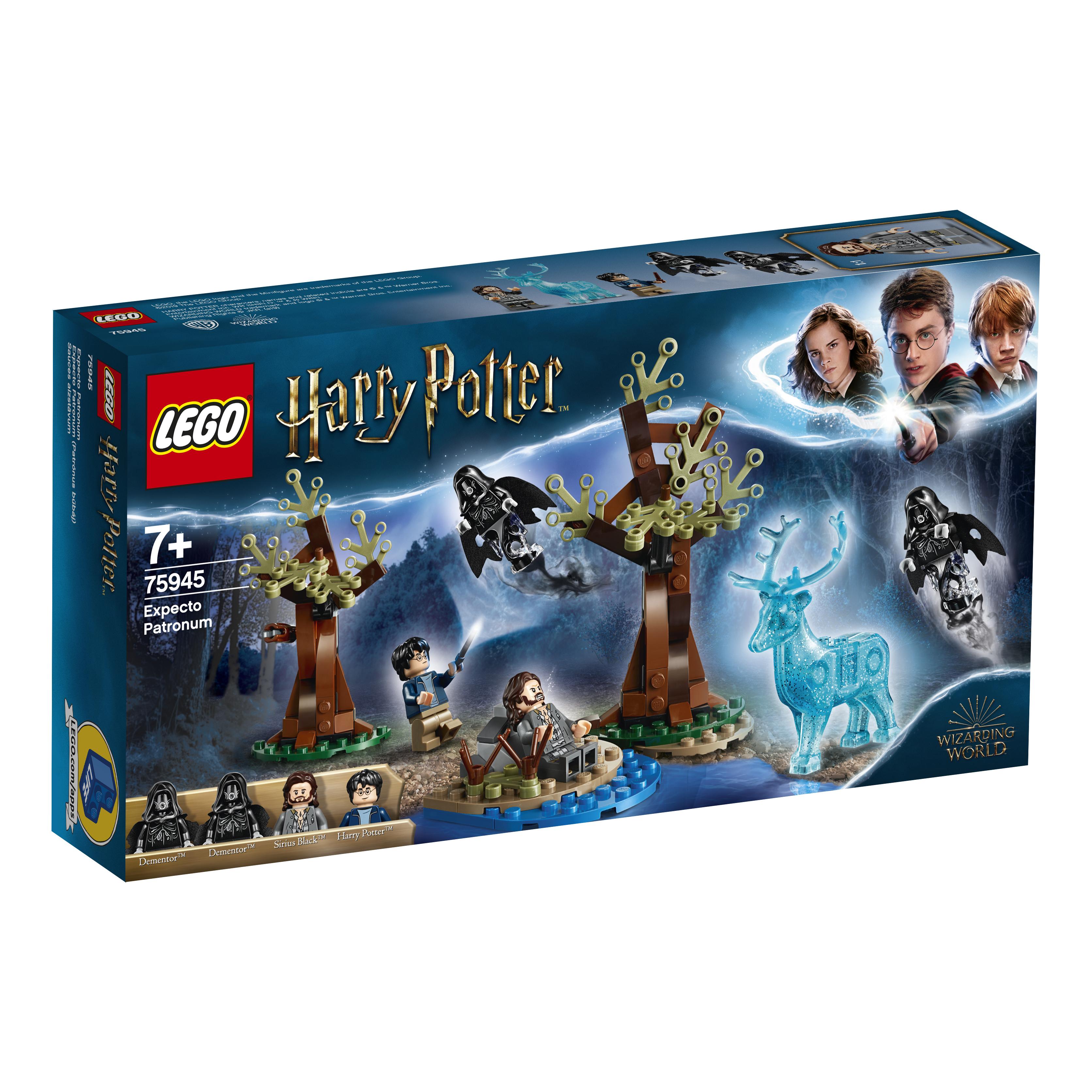 Конструктор LEGO Harry Potter «Экспекто Патронум» футболка с полной запечаткой для мальчиков printio экспекто патронум