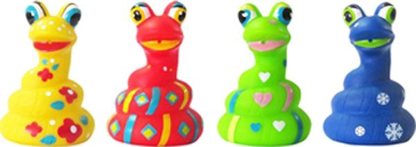 Игрушки для ванны ПОМА Змейка игрушки для ванны пома кубики учим буквы