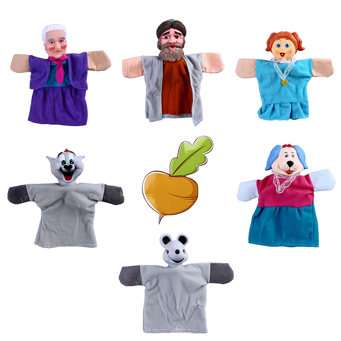 Кукольный театр Наша игрушка Репка кукольный театр наша игрушка курочка ряба