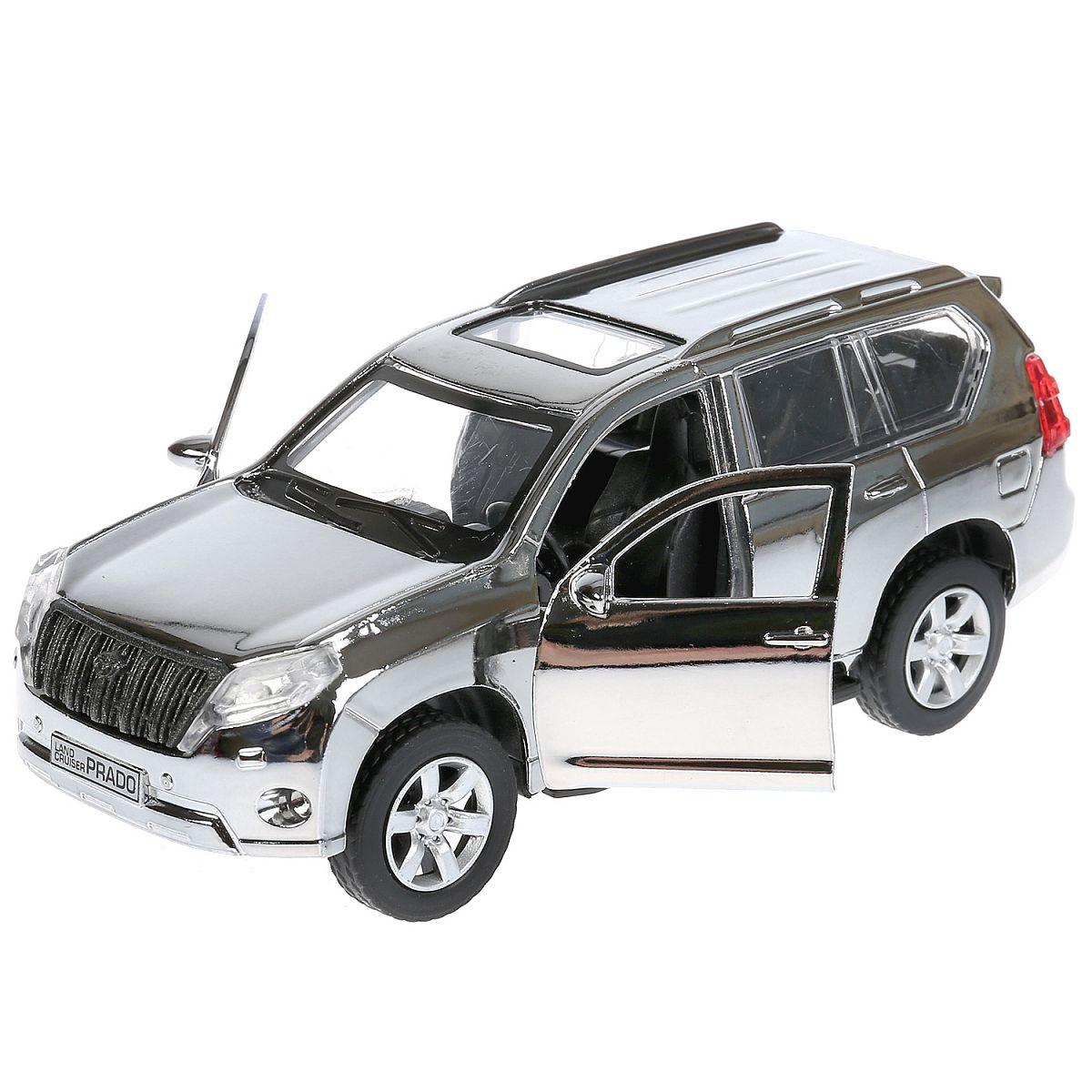764bd3cbc865 Машина Технопарк Toyota Prado хром - купить в Москве: цены в интернет- магазине Кораблик