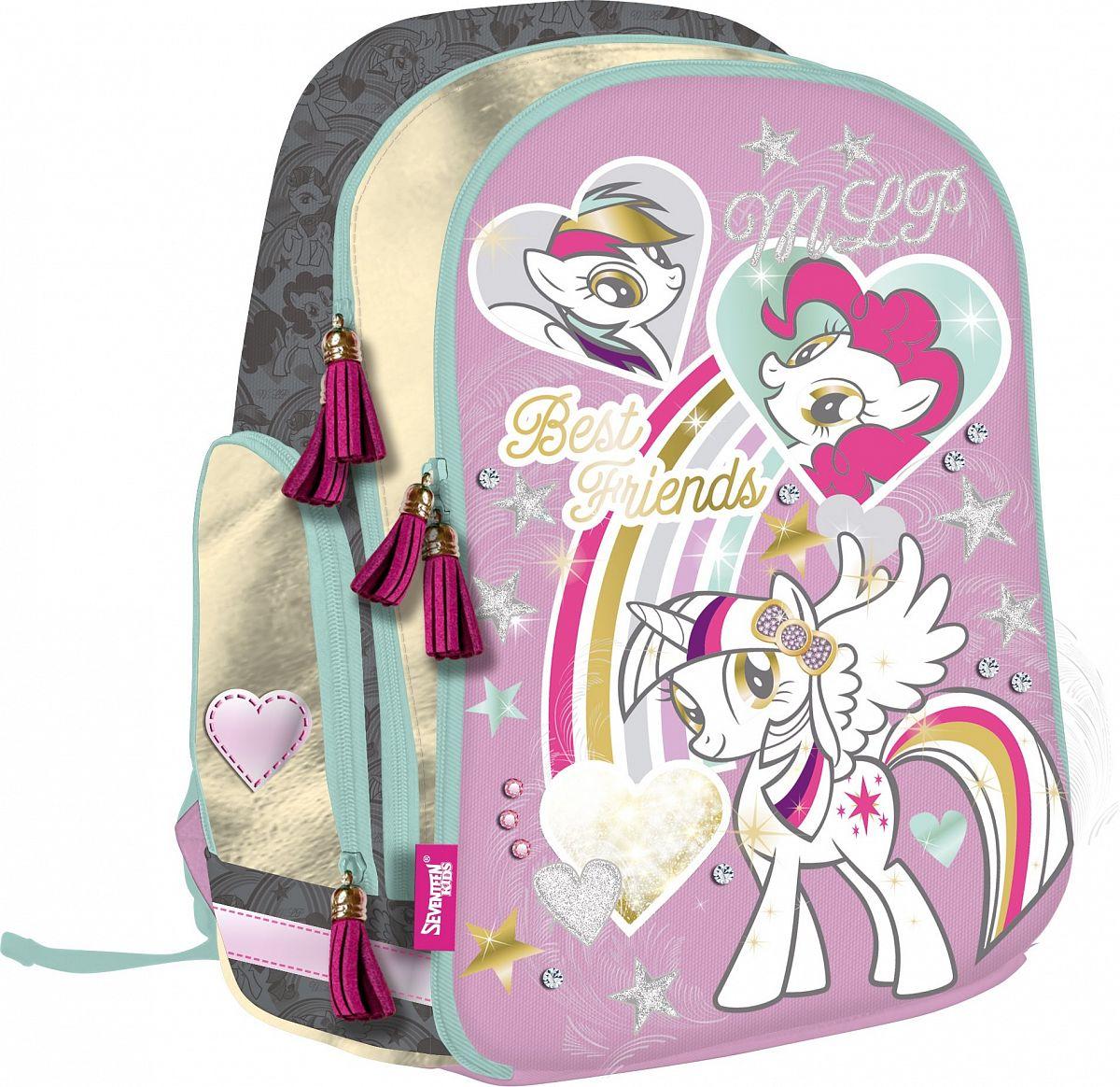 2f69ad38ffef Рюкзак школьный My Little Pony 40х29х16 см - купить в Москве: цены в ...