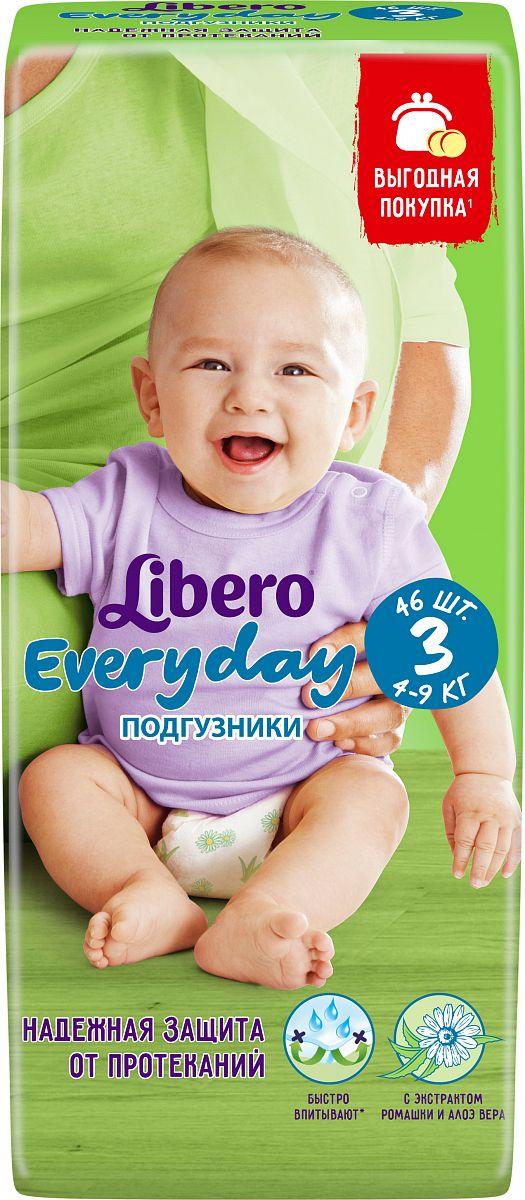 7743207b1c70 Подгузники Libero Everyday 3 (4-9 кг) 46 шт. - отзывы покупателей ...