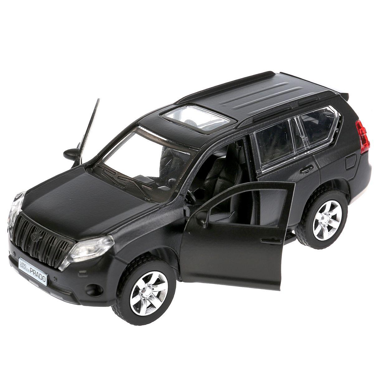 5b7ef2966677 Машина Технопарк Toyota Prado в ассортименте - купить в Москве: цены в  интернет-магазине Кораблик