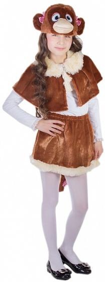 карнавальный костюм карнавалия обезьянка девочка