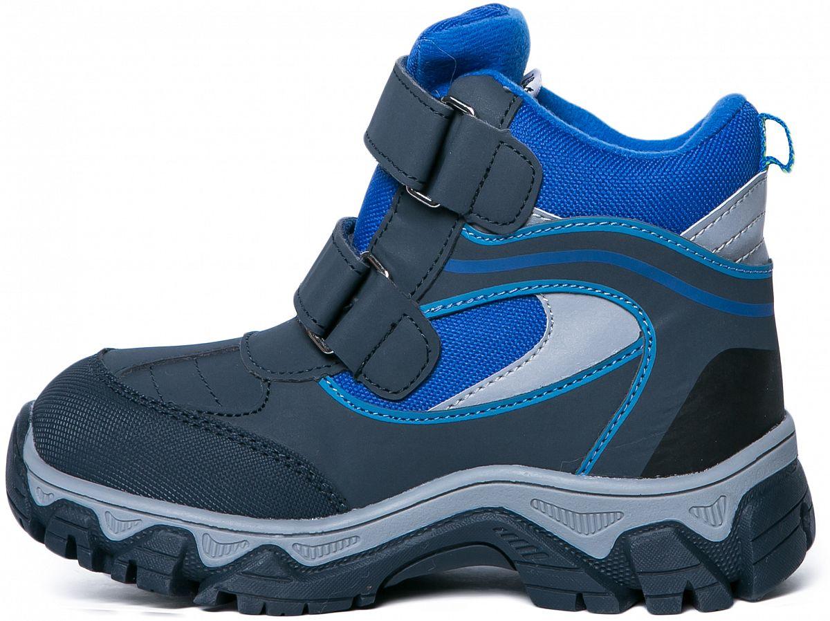 c90f86d358a7 Ботинки для мальчика Barkito, синий - купить в Москве  цены в ...