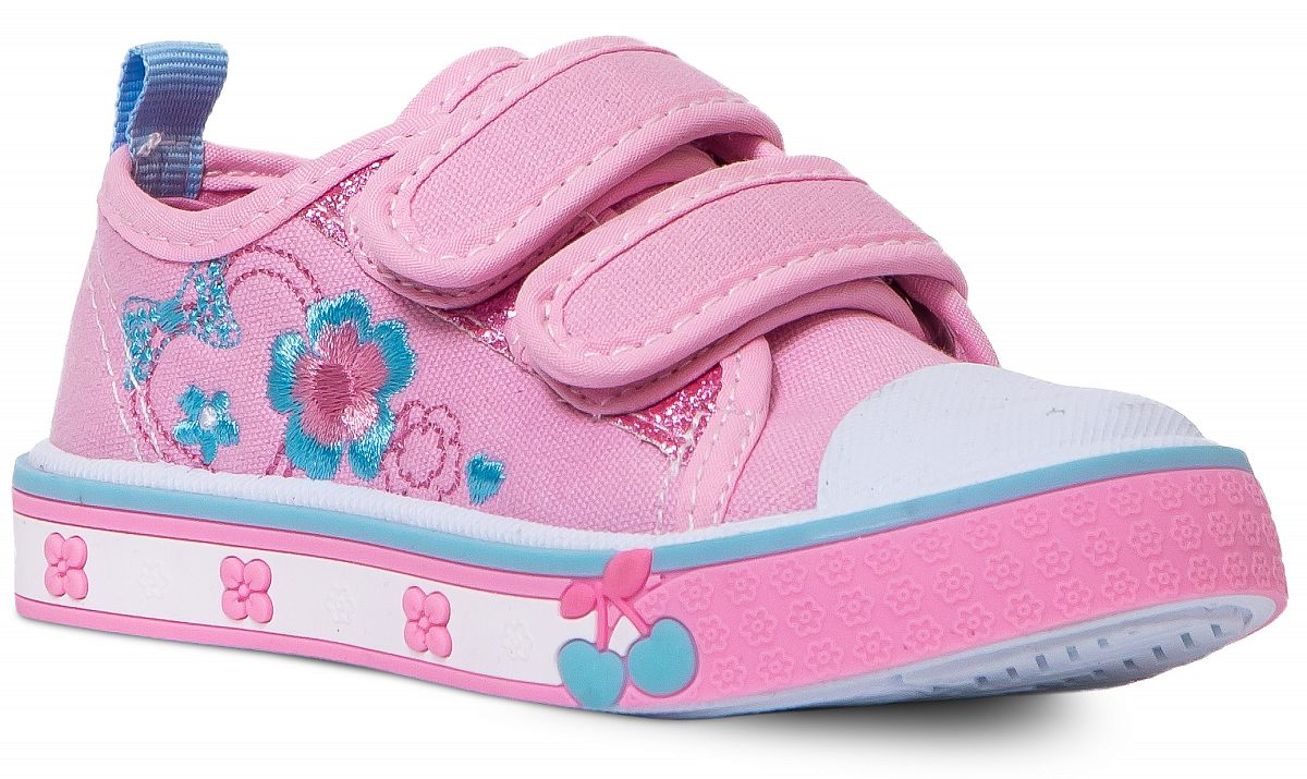 9b17c45c Полуботинки типа кеды для девочки Barkito, розовые - купить в Москве: цены  в интернет-магазине Кораблик