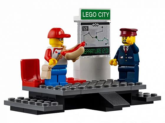 Конструктор lego city trains пассажирский поезд