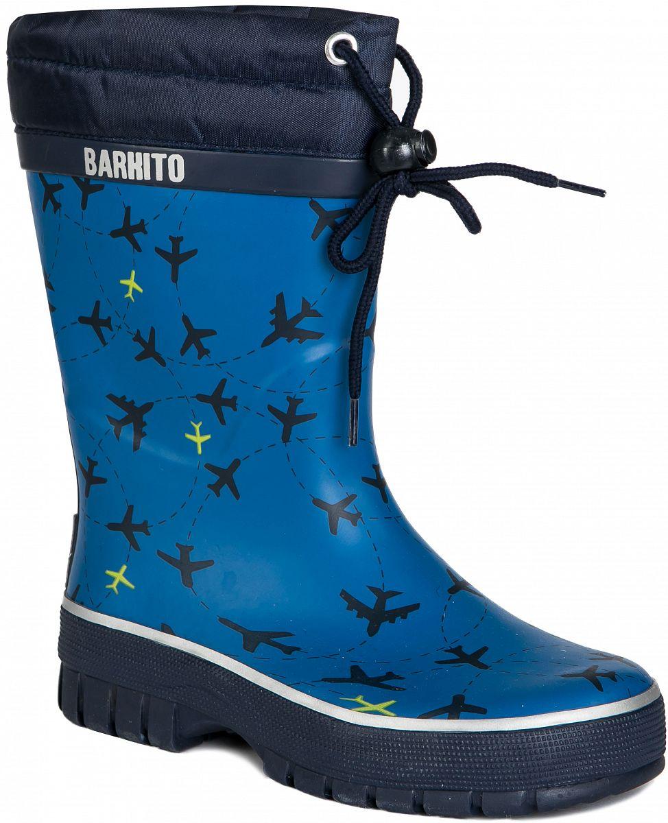 268bd333e Сапоги для мальчика Barkito, темно-голубые - купить в Москве: цены в  интернет-магазине Кораблик