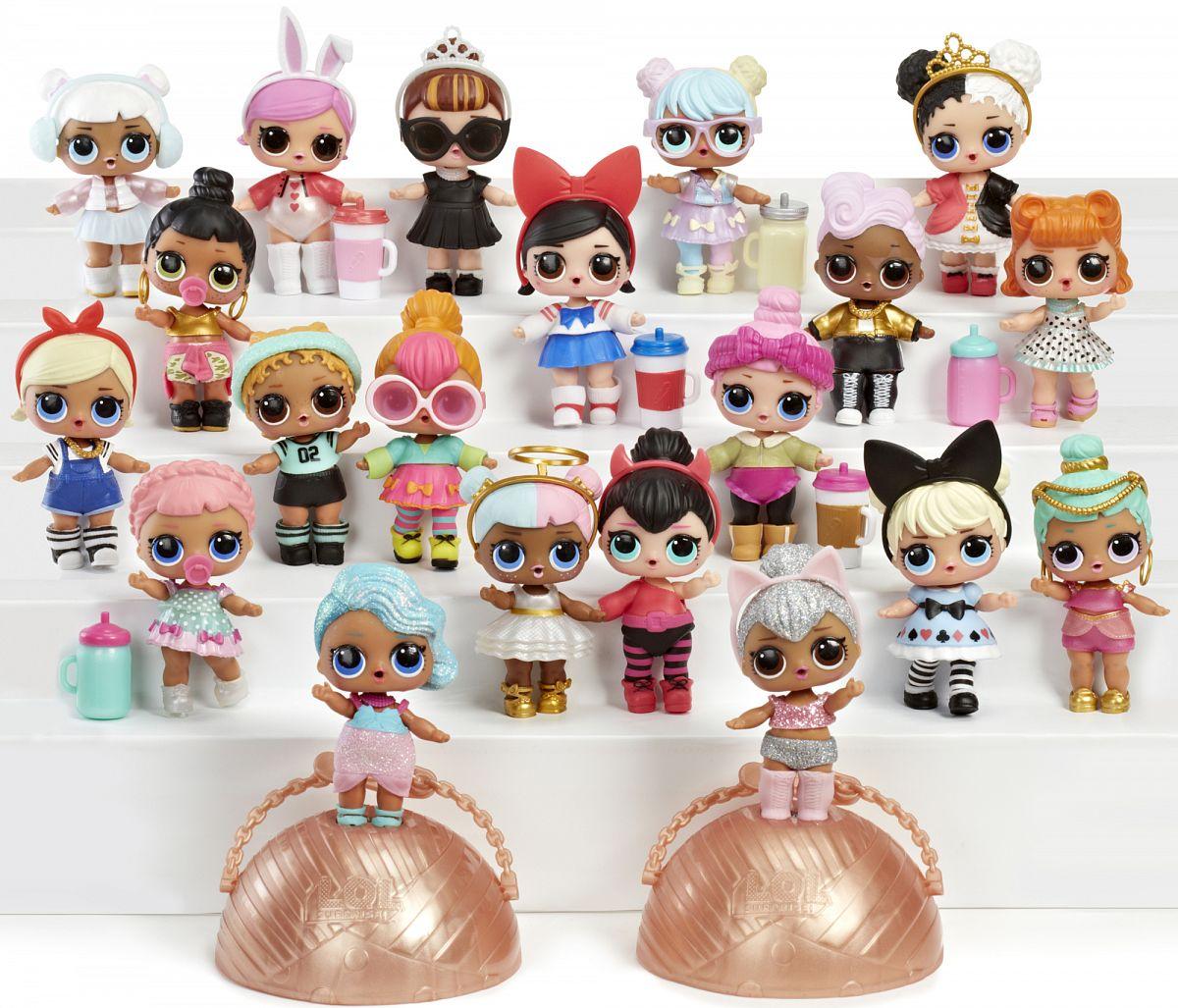 fb4b0dbbb2bb Кукла-сюрприз LOL LOL Surprise Series в шарике в ассортименте ...